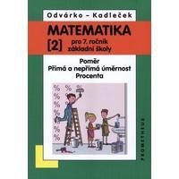 Matematika 7.ročník ZŠ - 2.díl - Poměr, přímá a nepřímá úměrnost, procenta