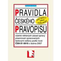 Pravidla českého pravopisu A6 - brožovaná