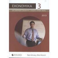 Ekonomika 3 pro OA a ostatní SŠ  (r. 2013) / DOPRODEJ