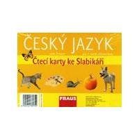 Český jazyk - čtecí karty ke slabikáři pro 1.ročník ZŠ (32 karet)