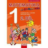 Matematika se Čtyřlístkem 1.ročník ZŠ - 2.díl učebnice  ROZŠÍŘENÉ VYDÁNÍ