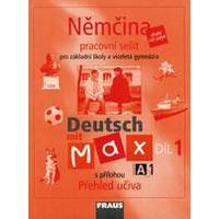 Deutsch mit Max A1/1.díl - pracovní sešit pro ZŠ a VG
