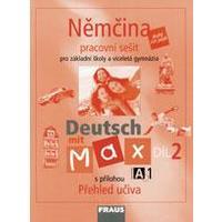 Deutsch mit Max A1/2. díl - pracovní sešit