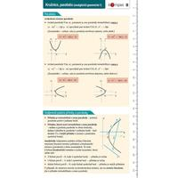 Matematika s přehledem 8 - Kružnice, parabola