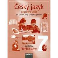 Český jazyk pro 7.ročník ZŠ a VG - pracovní sešit