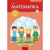 Matematika pro 1.ročník ZŠ - 1.díl hybridní pracovní učebnice NOVÁ GENERACE