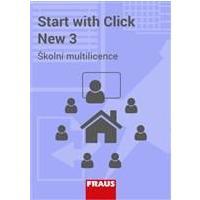 IUČ Start with Click New 3 - neomezená školní multilicence  Flexibooks