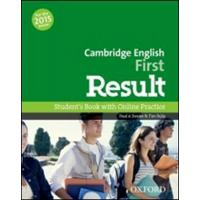 Cambridge English First Result - Student's Book with Online Practice Test