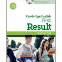 Cambridge English First Result - Teacher´s Book with DVD