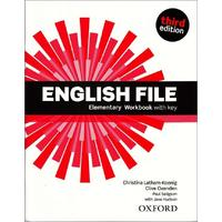 English File Third Edition Elementary - Workbook with Answer Key / DOPRODEJ
