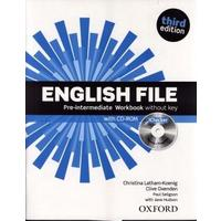 English File Third Edition Pre-intermediate - Workbook Without Answer Key