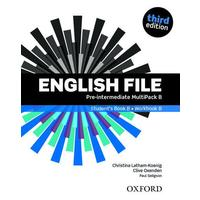 English File Third Edition Pre-intermediate - Multipack B
