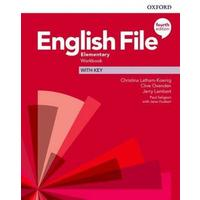 English File Fourth Edition Elementary - Workbook with Answer Key