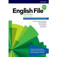English File Fourth Edition Intermediate - Teachers Book with Teachers Resource Center