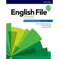 English File Fourth Edition Intermediate - Student's Book with Student Resource Centre Pack (CZ)