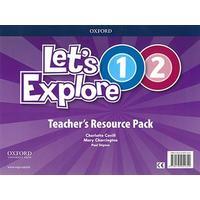 Let´s Explore 1-2 Teachers Resource Pack CZ
