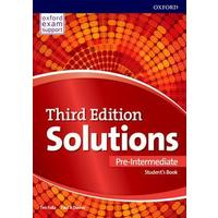 Maturita Solutions 3rd Edition Pre-Intermediate - Student's Book Czech Edition
