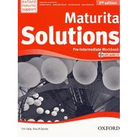 Maturita Solutions 2nd Edition Pre-Intermediate - Workbook Czech Edition