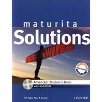Maturita Solutions Advanced - Student´s Book with MultiRom CZEch Edition