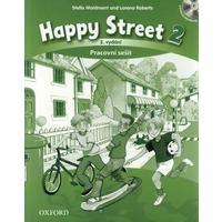 Happy Street 2 (3.vydání) - pracovní sešit + CD  (česká verze)