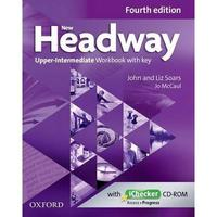 New Headway Fourth Edition Upper Intermediate- Workbook with Key
