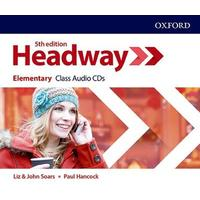New Headway Fifth Edition Elementary - Class Audio CDs /3/