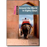 Dominoes Second Edition Level Starter - Around the World in Eighty Days with Audio Mp3 Pack