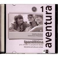 Aventura 1 (A1-A2) - metodická příručka na CD (španělština SŠ a JŠ)