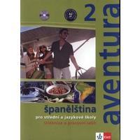 Aventura 2 (A2-B1) - učebnice s pracovním sešitem + 2CD (španělština SŠ a JŠ)