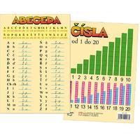 Abeceda / čísla -  tabulka A5 (oboustranná)