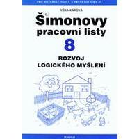 Šimonovy pracovní listy 8 - rozvoj logického myšlení
