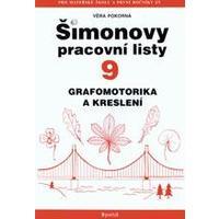 Šimonovy pracovní listy 9 - grafomotorika a kreslení