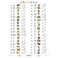 Abeceda - 100 x 140cm, nástěnná mapa