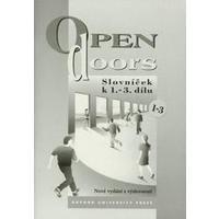 Open doors 1-3 - slovníček k 1.-3. dílu  DOPRODEJ