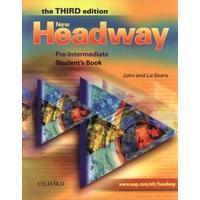 New Headway Pre-Intermediate (Third edition) - Student's Book