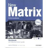 New Matrix Intermediate Workbook with Maturita revision guide