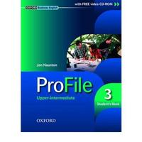 Profile 3 Upper-Intermediate - Student's Book + CD ROM