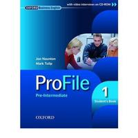 Profile 1 Pre-Intermediate - Student's Book + CD ROM