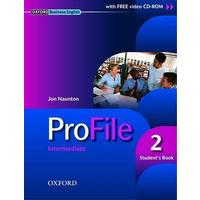 Profile 2 Intermediate - Student's Book + CD ROM