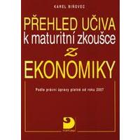Přehled učiva k maturitní zkoušce z ekonomiky  DOPRODEJ