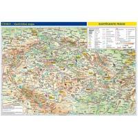 Česko - příruční mapa - vlastivědná - oboustranná