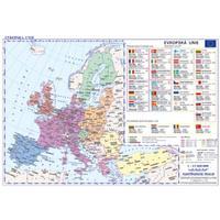 Evropská unie - příruční mapa politická / obrysová