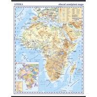 Afrika - obecně zeměpisná(fyzická)  nástěnná mapa,  960x1360mm