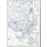 Evropa - obrysová mapa slepá /  DOPRODEJ