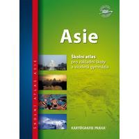 Asie - školní atlas pro 2.stupeň ZŠ a VG