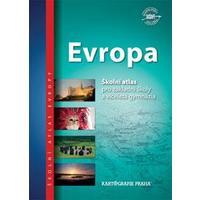 Evropa - školní atlas pro 2.stupeň ZŠ a VG