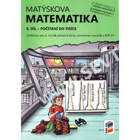 Matýskova matematika 3.ročník - 8.díl učebnice - počítání do tisíce