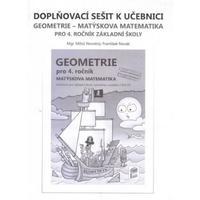 Doplňkový sešit k učebnici Geometrie - Matýskova matematika 4.ročník