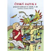 Český jazyk 4.ročník - 1.díl pracovní sešit
