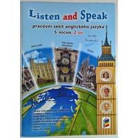 Listen and Speak With friends! pro 5.ročník ZŠ - 2.díl pracovní sešit